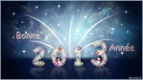 BONNE ANNEE 2013