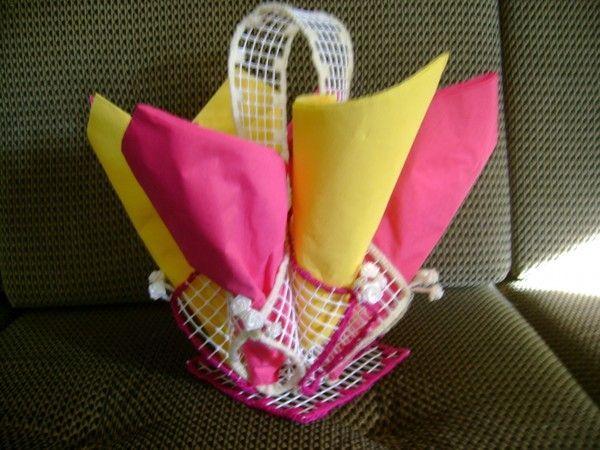 accessoires-de-maison-porte-serviettes-en-grillage-plastifié